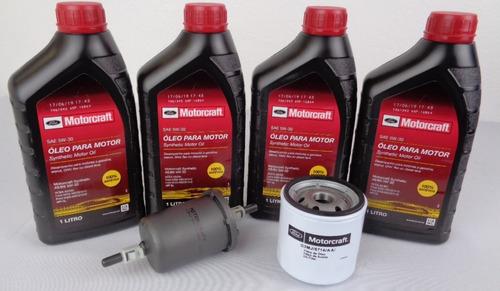 kit troca de oléo e filtros para motores rocam fiesta/ka/eco