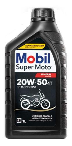 kit troca oleo e filtro cbx 250 twister mobil 20w50 mineral
