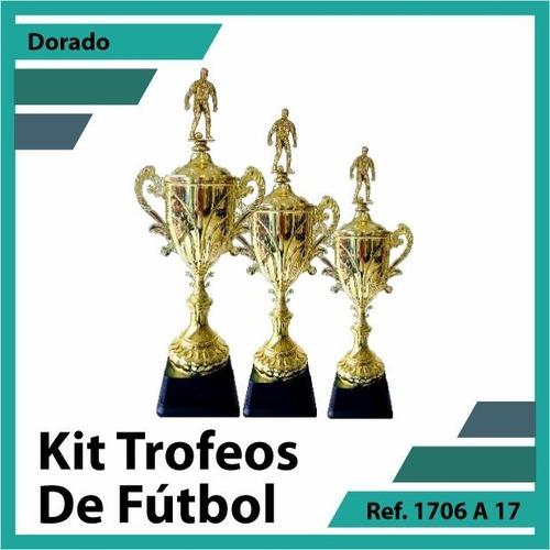 kit trofeos en cali primer, segundo y tercer puesto