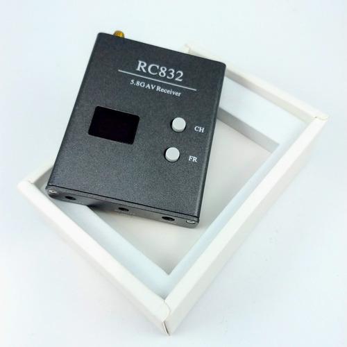 kit ts5828 + rc832 5.8ghz 600mw 32ch 100% original tx e rx