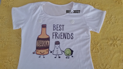 kit tshirt fermina: 10 peças