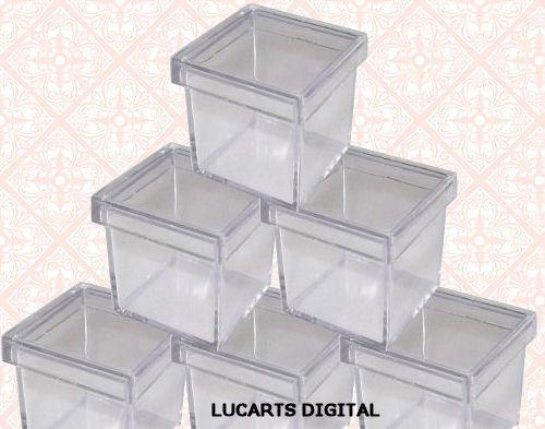 kit tubete - pote doce - latinha - caixa acrílico