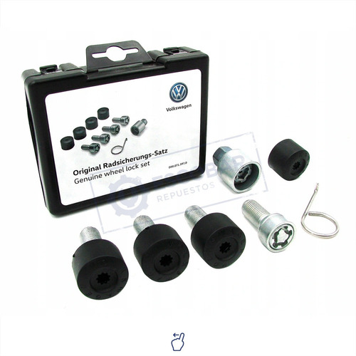 kit tuercas de seguridad antirrobo volkswagen beetle