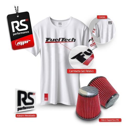 kit turbina master power - r474-3 + filtro esportivo 2,5'