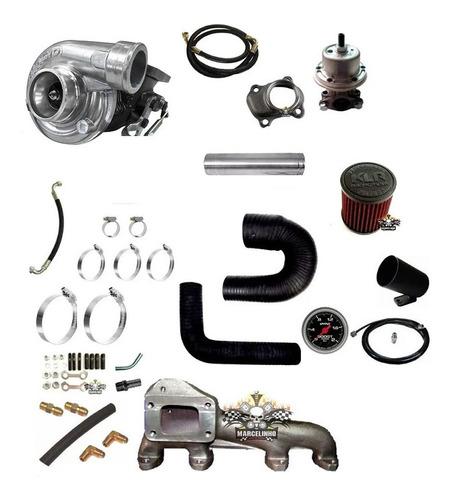 kit turbo ap diesel 1.6 1.7 1.9 com pressurização mi