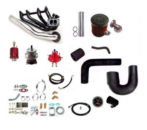 kit turbo chevette x ap mi coletor pulsativo c/ turbo .50