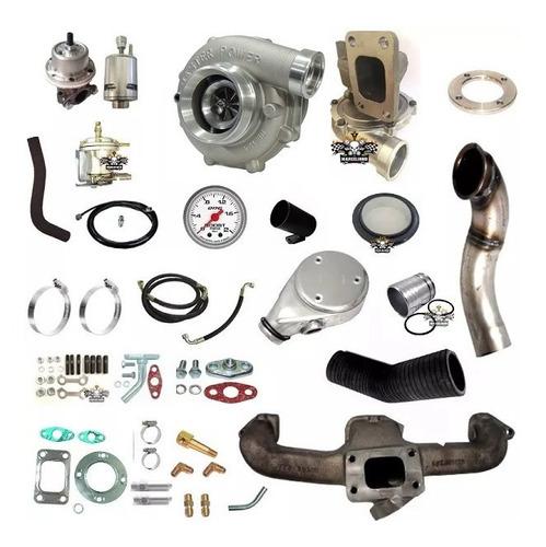 kit turbo opala 4cc 2.5 turbo .50 refluxo master power