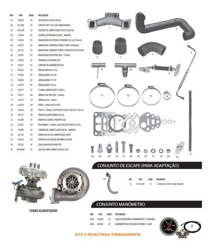 kit turbo pick up d10 d20 veraneio bonanza q20b garret tb