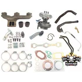 Kit Turbo Toyota Bandeirantes 608 / 708 Om 314 Com Garret