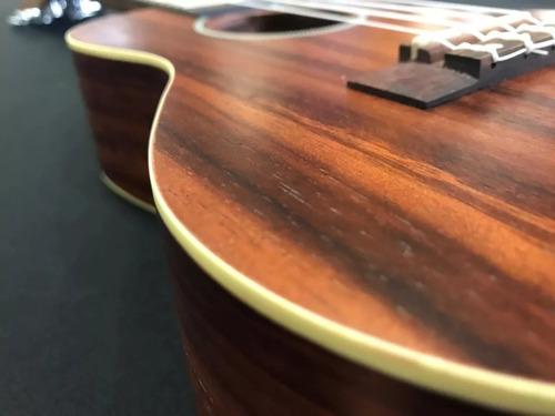 kit ukulele concerto shelby by eagle su23r stnt fosco capa