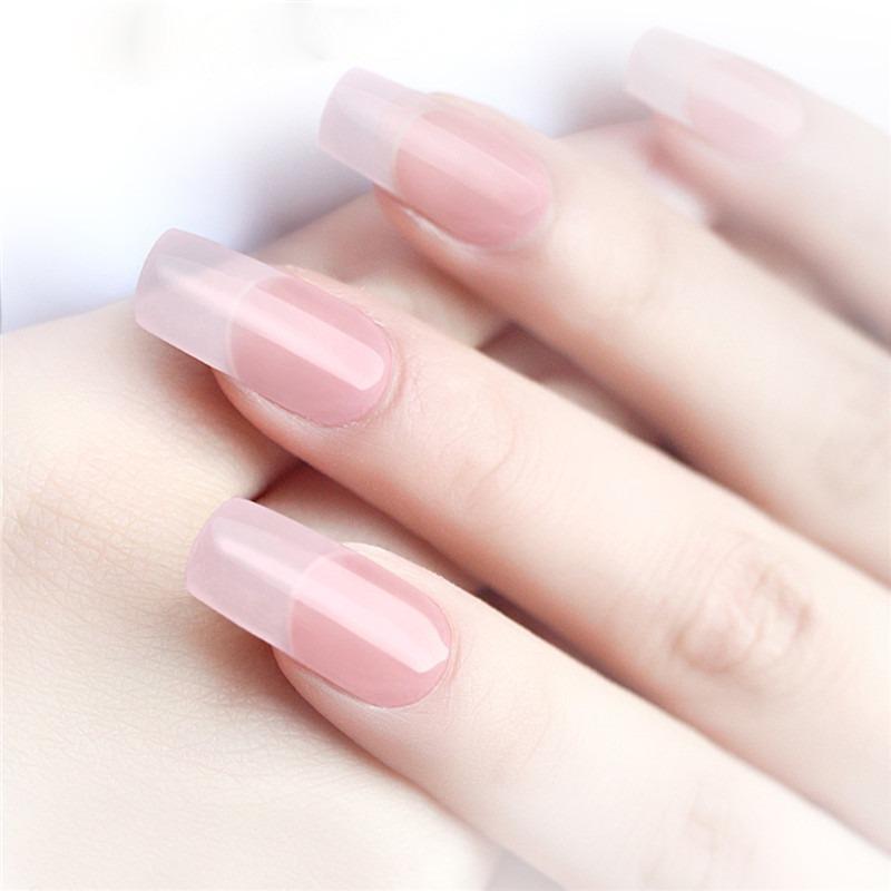 Poly Gel Kit Transparente Blanco Rosa Uñas Constructor Conse