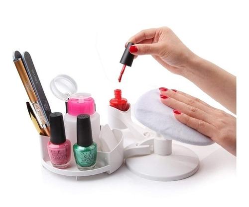 kit unha em casa estudio manicure completo bancada iluminado