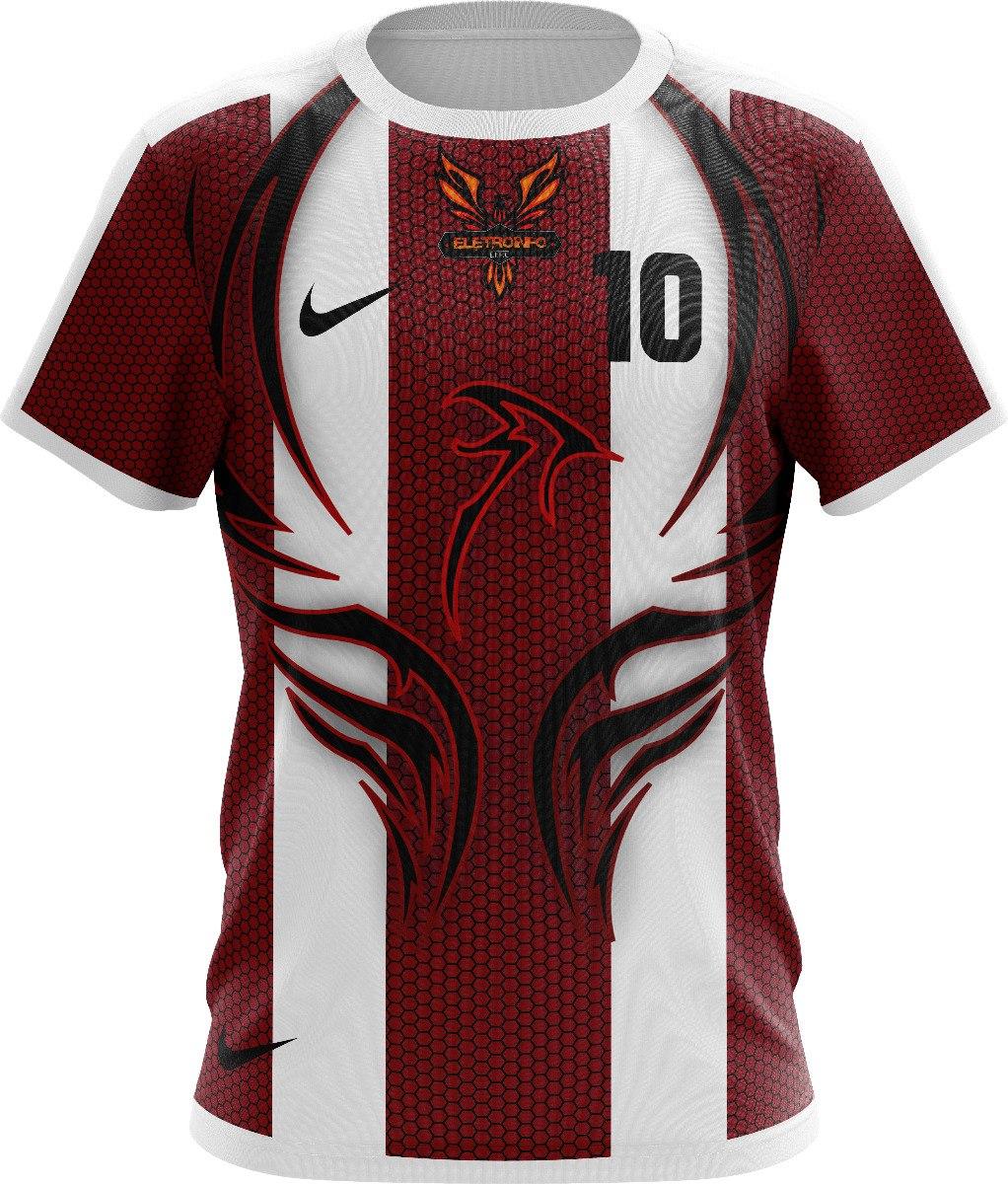 kit uniforme camisa d futebol personalizado dryfit malhafria. Carregando  zoom. 72d5f13c049a5