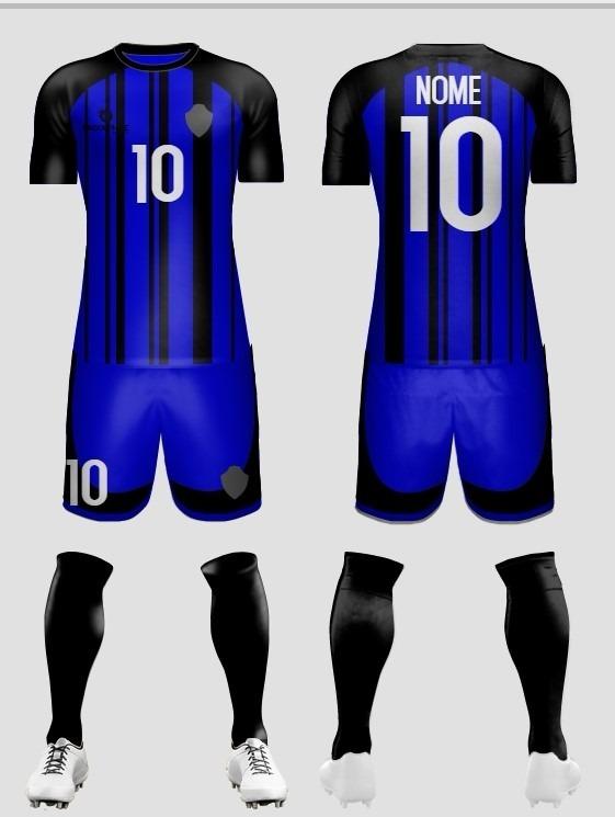 Kit Uniforme De Futebol 20 Peças (camisa+short) - R  1.250 c1234f3f7225e