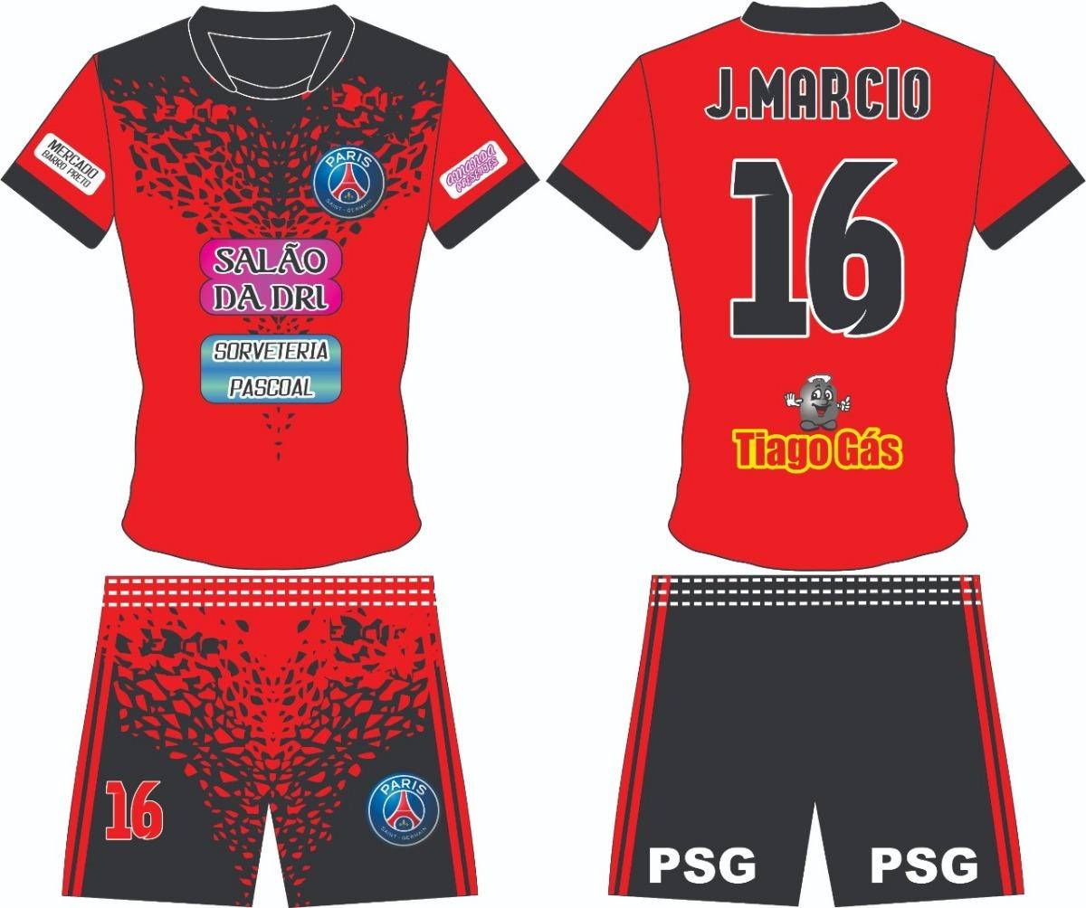 kit uniforme futebol personalizado barato. Carregando zoom. b39b70845b917