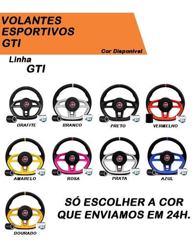 kit uno mille esportivo volante gti + cubo todos modelos