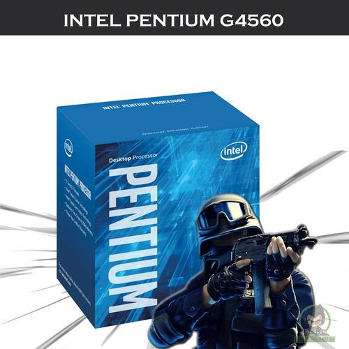 kit upgrade h110m + proc. pentium g4560 + mem 8gb ddr4
