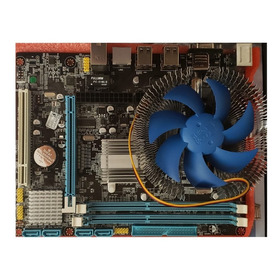Kit Upgrade Placa Mãe Memória 4gb Ddr3 Processador Core2 Duo