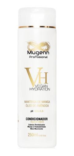 kit uso diário shampoo + condicionador + leave-in mugenn