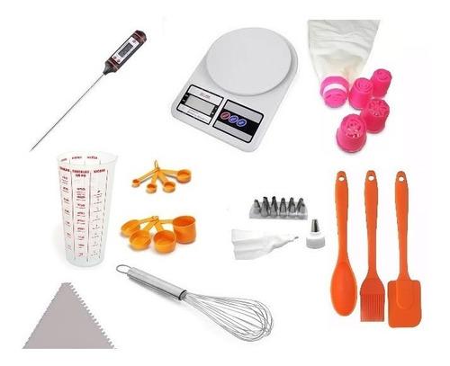 kit utensílios de confeiteiro