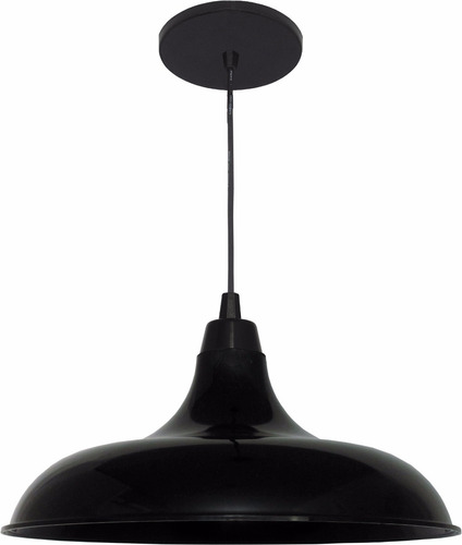 kit utron 2 lustres luminária pendente prato bedd retrô 32cm