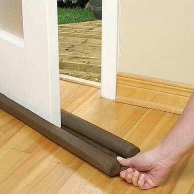 kit veda pó  com 2 peças ( vedador de portas)