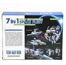 kit vehiculos espaciales 7 en 1 solar