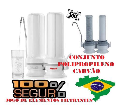 kit velas para filtro purificador hoken multi1500 com chave