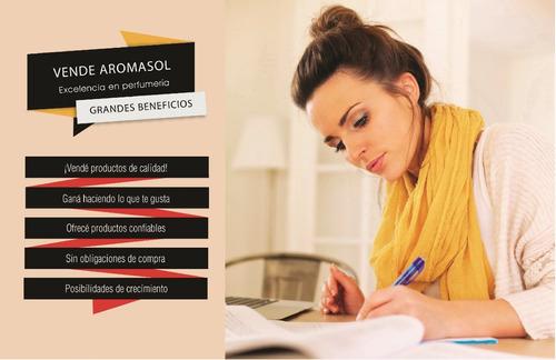 kit ventas x catálogo aromasol (+ probadores + productos)