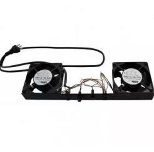 kit ventilacao 2 ventiladores p/ mini rack - wj