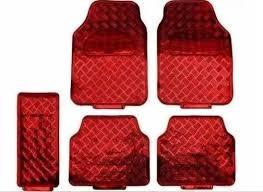 kit vermelho capa de banco carro+tapete ford ka 2010 2011