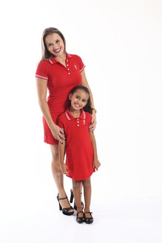 kit vestido tal mãe tal filhos