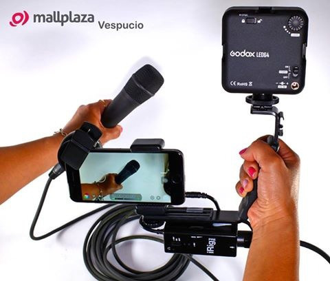 kit video filmación para smartphones profesional rode godox