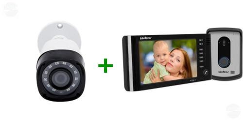 kit video porteiro iv 7010 hf + camera 1010b  g4 intelbras