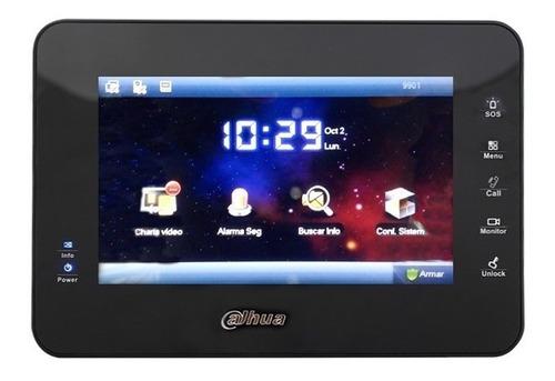kit video portero c/ pantalla touch dahua