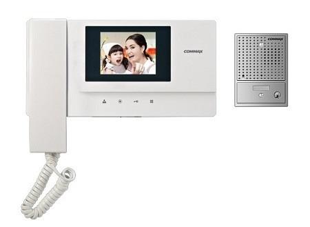 kit video portero commax a color, monitor 3.5  tft led