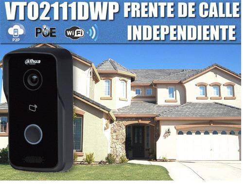 kit video portero dahua  2 monitor ip touch 7 pulgadas wifi