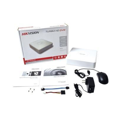 kit video vigilancia 2 cámaras hd 720p cctv disco duro 500gb
