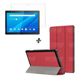 Kit Vidrio Templado Y Estuche Tablet Lenovo Tab M10 Tb-x505f