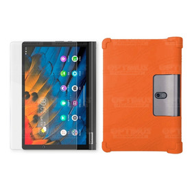 Kit Vidrio Y Estuche Tablet Lenovo Yoga Smart Tab Yt-x 705f
