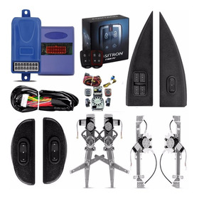 Kit Vidro Eletrico Corsa Classic Completo + Alarme