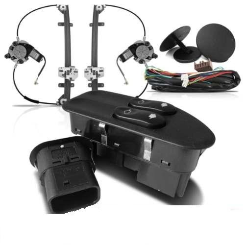 kit vidro eletrico fiesta dianteiro c. modulo inteligente