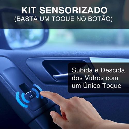 kit vidro eletrico monza 86 a 1996 sensorizado dial 2 portas
