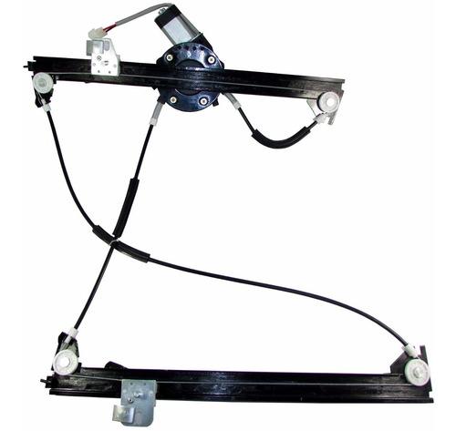 kit vidro elétrico peugeot hoggar 2 portas + alarme