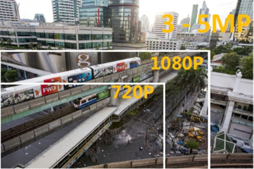 kit vigilancia hikvision turbo hd 4 camaras 720p 1mp + acces