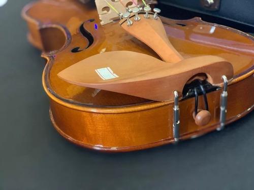 kit violino 4/4 ve441 eagle estojo breu arco  br