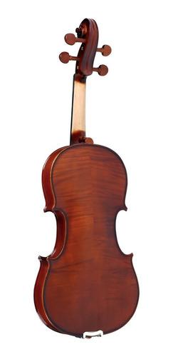kit violino 4/4 ve441 eagle estojo case arco breu cavalete