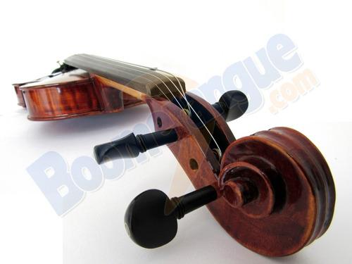 kit violino envelhecido 4/4 vk644 eagle estojo + partitura