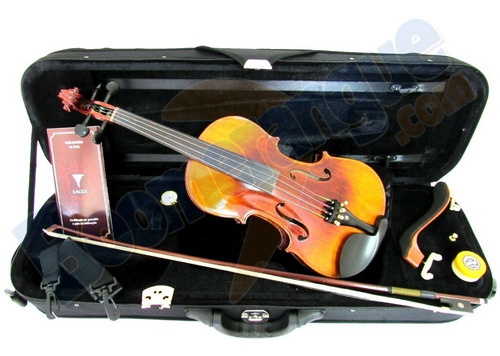 kit violino profissional 4/4 vk644 eagle estojo