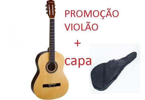 kit violão acustico  iniciantes natural memphys tagima ac39